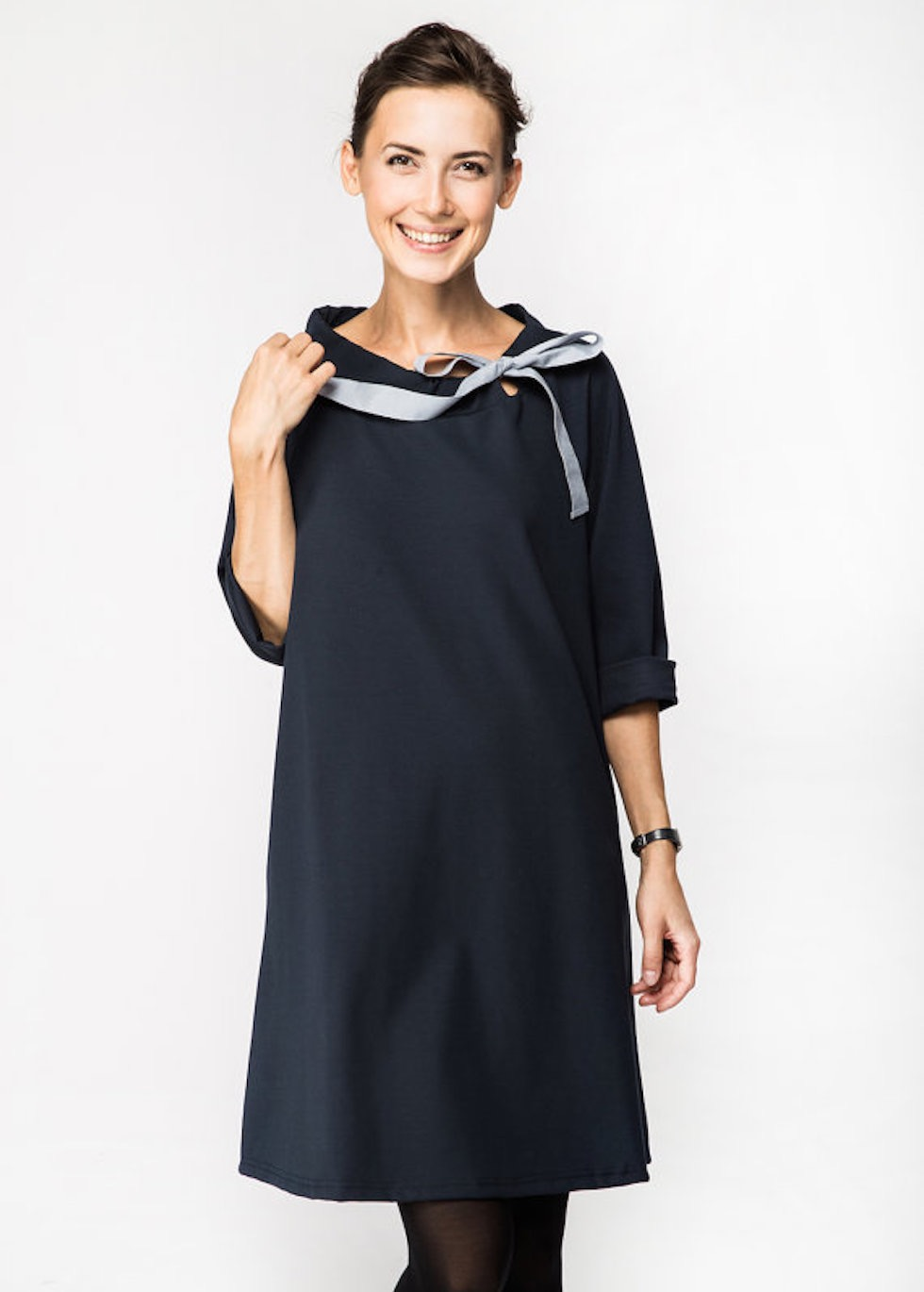 LeMuse deep blue FRENCH dress