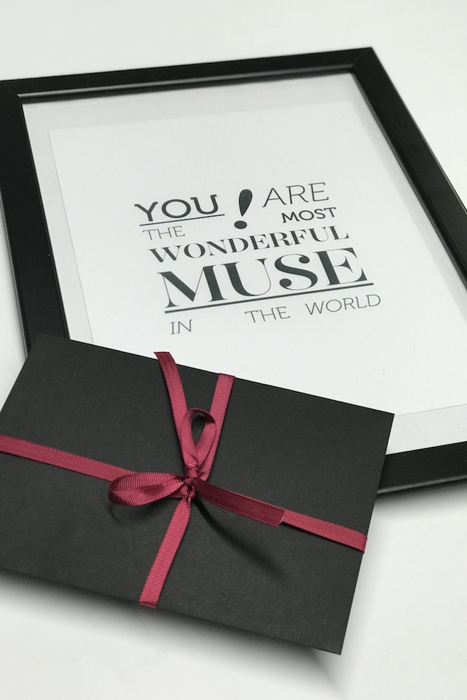LeMuse GIFT: you are the most wonderful muse