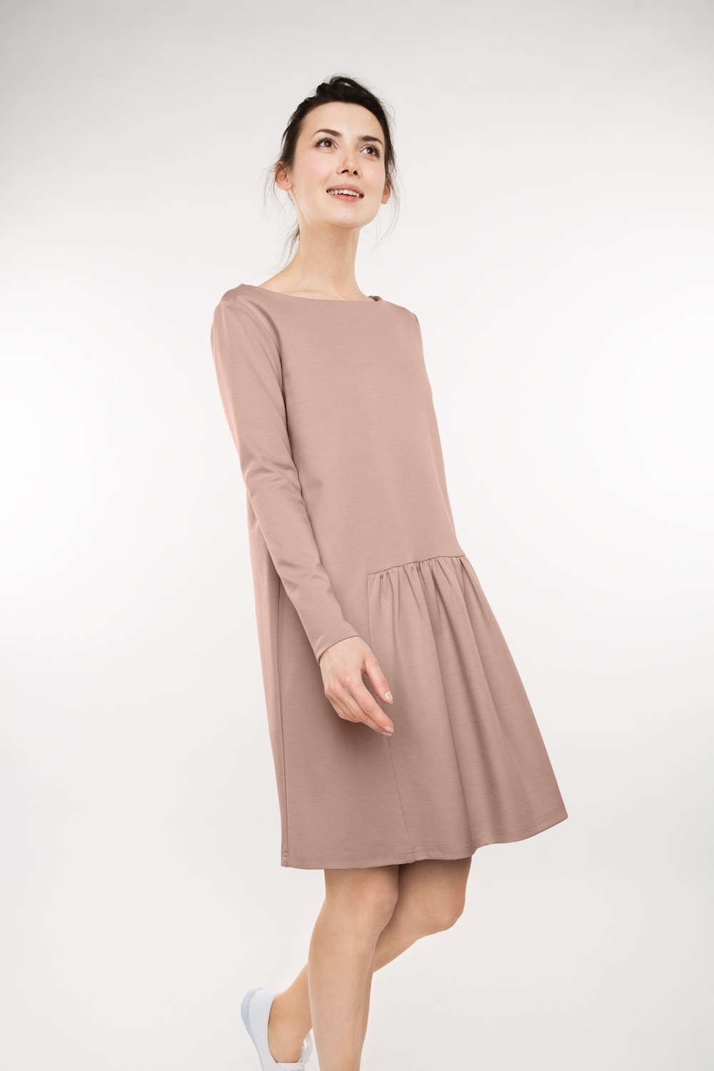 LeMuse nude MILK dress