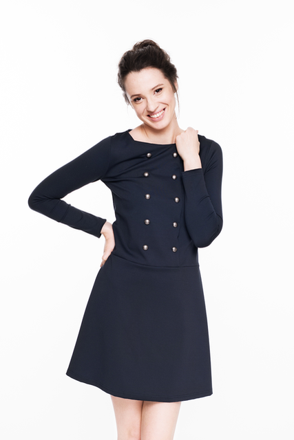LeMuse deep blue SAILOR dress