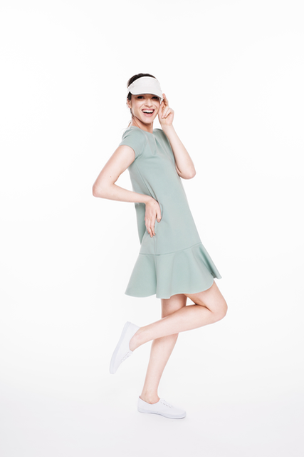 LeMuse mint TENNIS dress