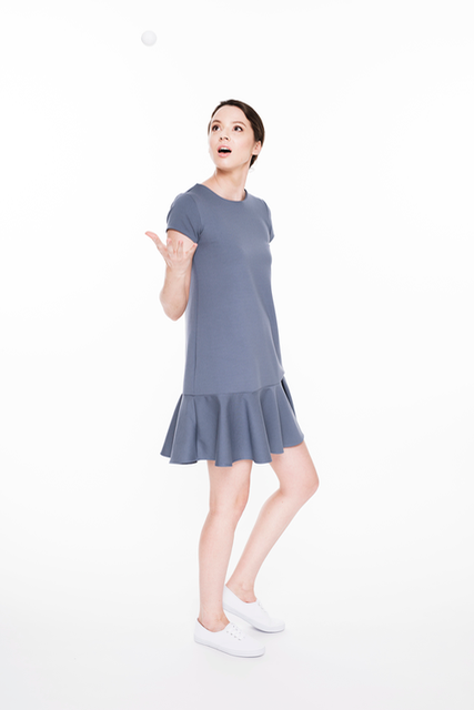LeMuse light blue TENNIS dress