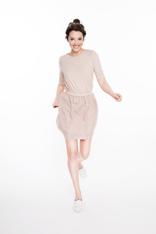 LeMuse nude BALLERINA dress