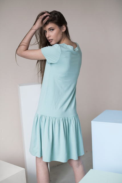 LeMuse mint DISCO dress