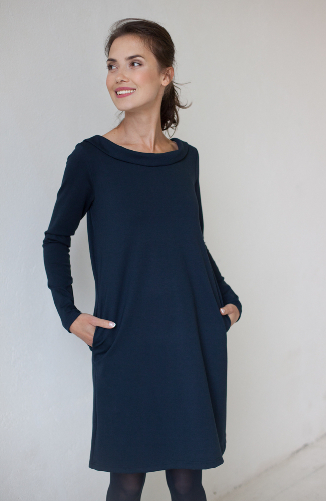 LeMuse deep blue STORY dress