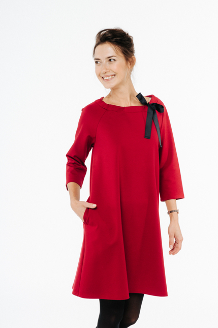 LeMuse red FRENCH dress