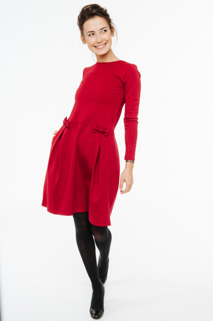 LeMuse red MADMUAZEL dress