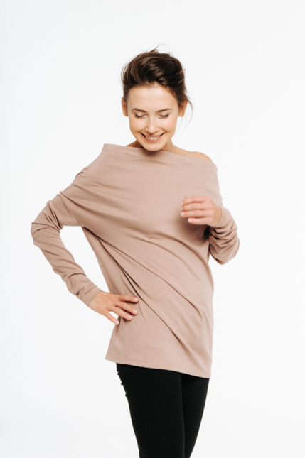LeMuse nude MAGIC blouse