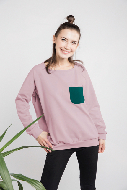 LeMuse dusty rose CASUAL jamper
