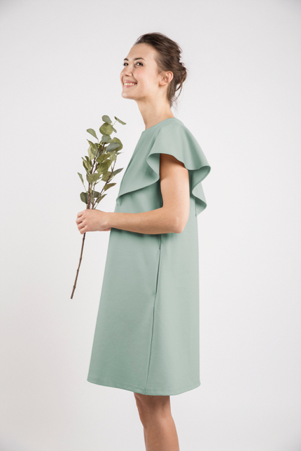 LeMuse mint SUMMER WING dress