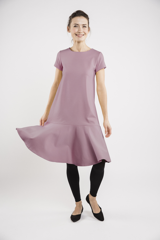LeMuse dusty rose STOCKHOLM dress