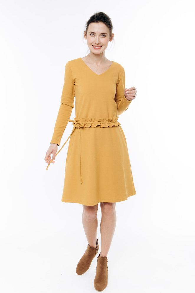 LeMuse yellow DAISY dress