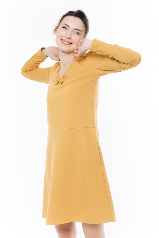 LeMuse yellow SUN dress