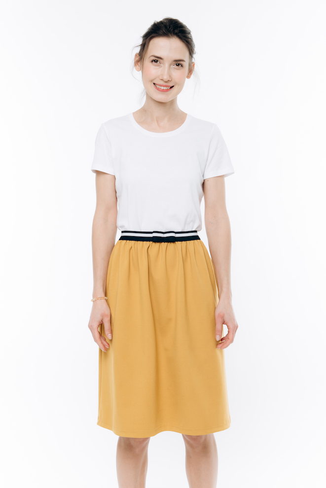 LeMuse yellow JOY skirt