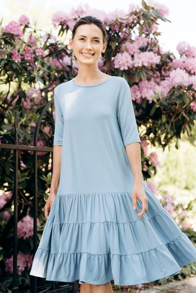 LeMuse sky blue SUNDAY dress