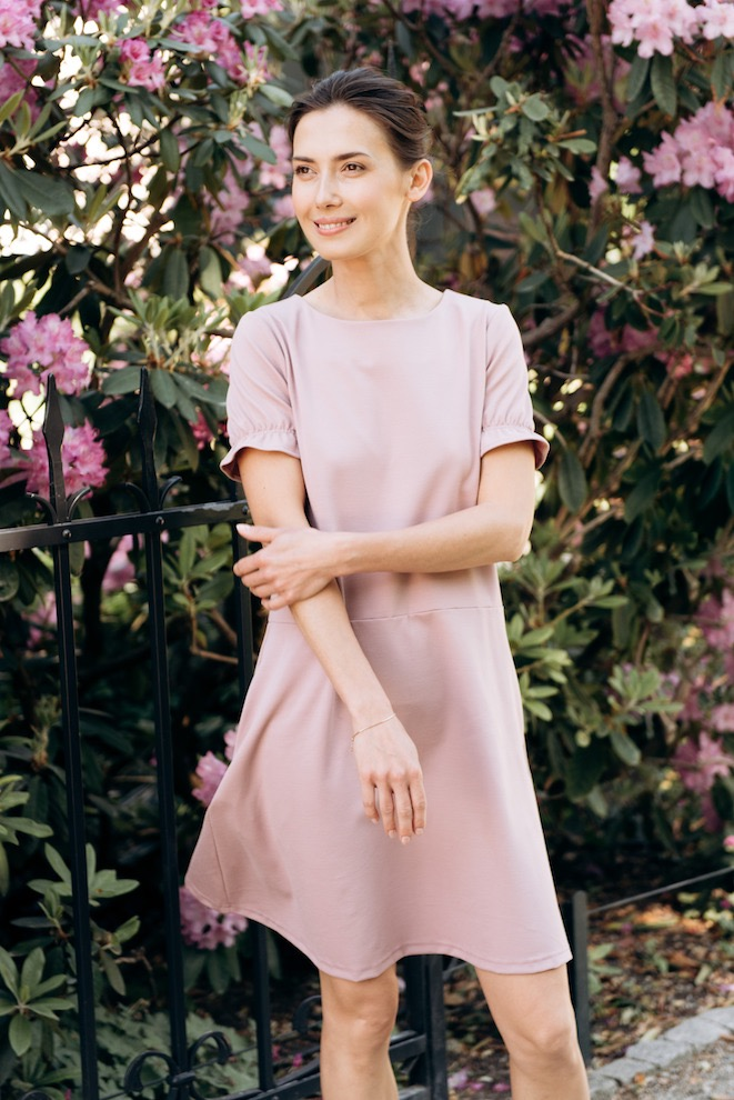 LeMuse dusty rose DARLING dress