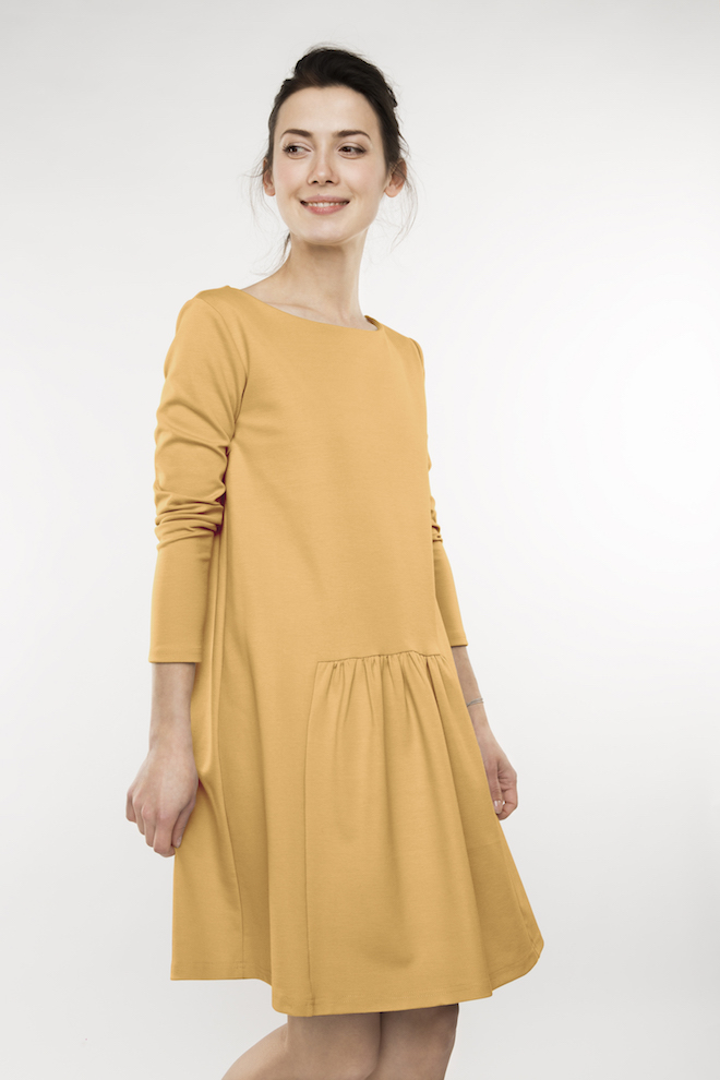 LeMuse yellow MILK dress