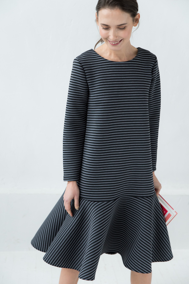 LeMuse striped STOCKHOLM dress