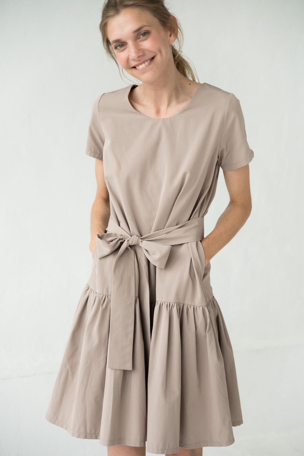 LeMuse sand SAND&DUNES CAPRI dress