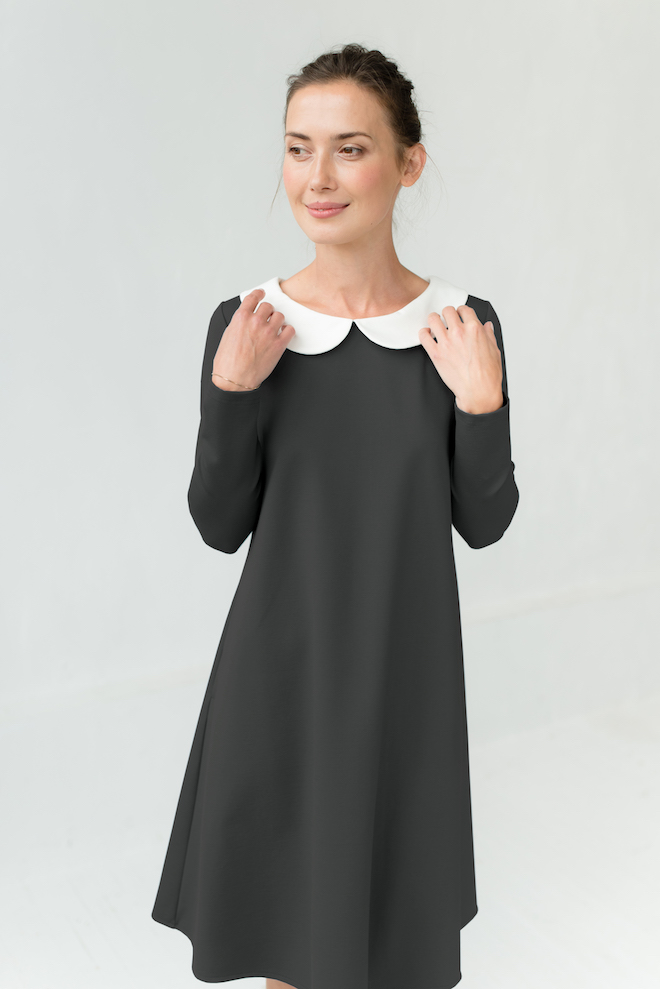 LeMuse gray-green LOVER dress