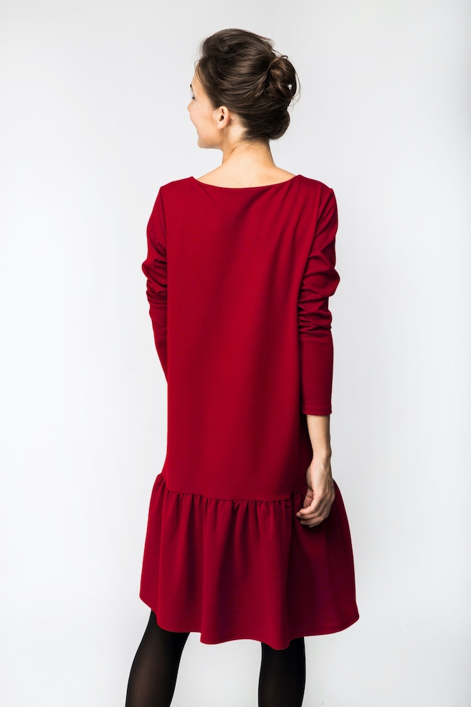 LeMuse red DISCO dress
