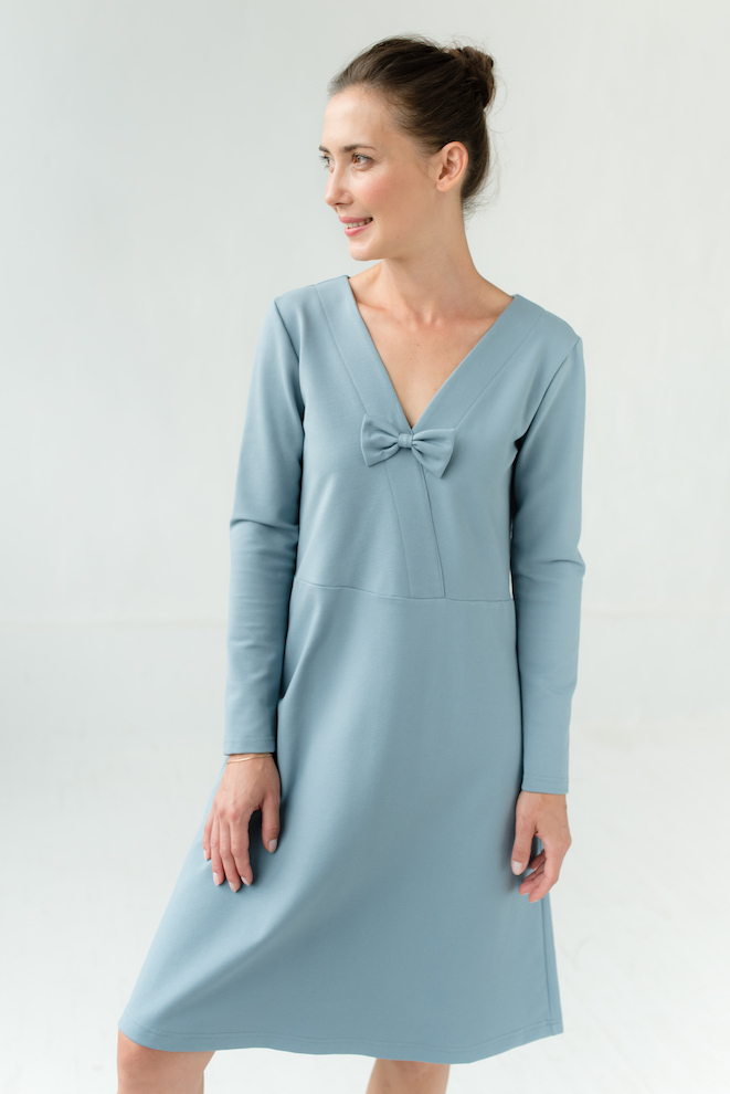 LeMuse sky blue FANTASY dress