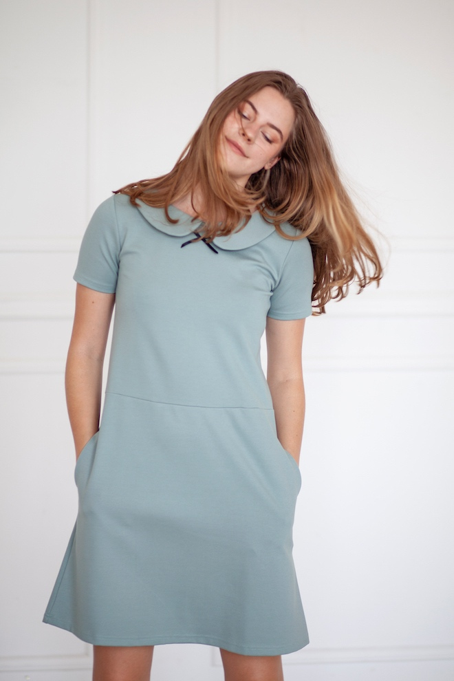 LeMuse mint SUMMER PARISIAN dress