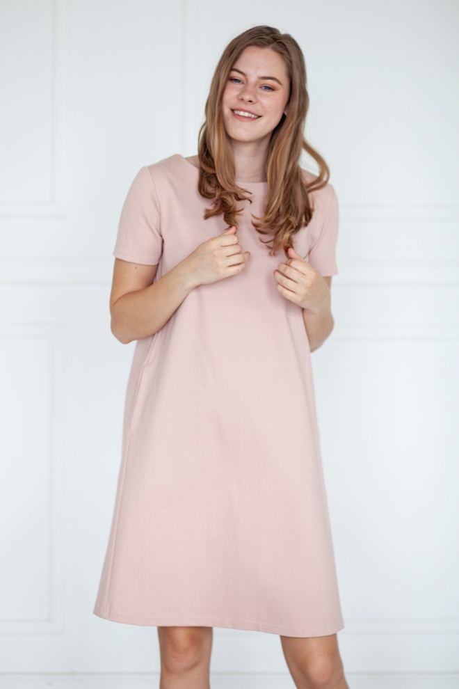 LeMuse nude SUMMER EMILY dress