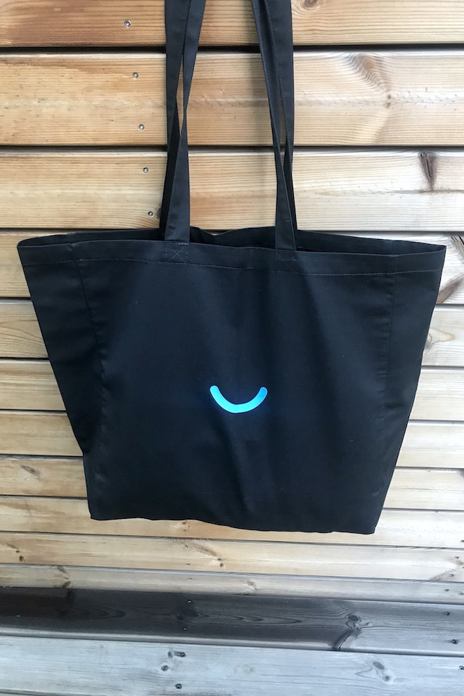 LeMuse black JOY bag
